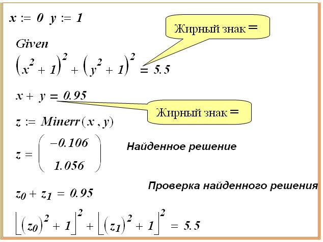 6 методы решения нелинейных уравнений